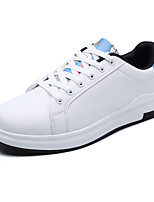 cheap -Men's Comfort Shoes PU Fall / Spring & Summer Casual / Preppy Sneakers Walking Shoes Breathable White / Blue / White / Purple