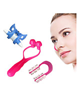 cheap -3Pcs Nose Up Lifting Shaping Clippers Shaper Bridge Straightening Corrector Beauty Tools