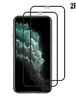 cheap -Naxtop Screen Protector Apple iPhone 11 Pro Max / XS Max / XR / X / 8 7 Plus High Definition (HD) Front Screen Protector 2 pcs Tempered Glass