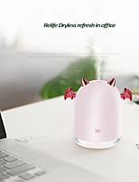 cheap -230ml Ultrasonic Air Humidifier Little Devil USB Aroma Essential Oil Diffuser For Home Car Mist Maker Fogger Color LED Lamp