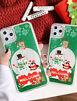 cheap -Case For Apple iPhone 11 / iPhone 11 Pro / iPhone 11 Pro Max Shockproof Back Cover Animal / Cartoon / Christmas PC