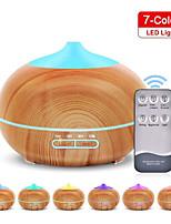 abordables -400 ml arôme humidificateur d'air diffuseur d'huile essentielle sans BPA grain de bois brume fraîche humidificateur support minuterie / arrêt automatique avec télécommande