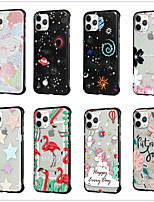 cheap -Case for Apple scene map iPhone 11 X XS XR XS Max 8 Colorful painted matte embossed PC material TPU 2-in-1 simple borderless mobile phone case