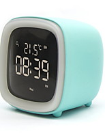 cheap -Alarm Clock with Light Creative USB Powered Home Decoration Bedroom Living Room Staycation