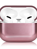 cheap -Case For AirPods Pro Cute / Plating / Frosted Headphone Case Hard