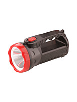 cheap -LED Flashlights / Torch 100 lm LED LED 12 Emitters 1 Mode Portable Camping / Hiking / Caving Everyday Use Cycling / Bike Black