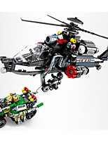 cheap -Building Blocks 502 pcs Military compatible Legoing Simulation Plane All Toy Gift / Kid's