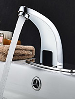 cheap -Bathroom Sink Faucet - Touch / Touchless Electroplated / Painted Finishes Free Standing Single Handle One HoleBath Taps