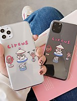 cheap -Case With (HD)Tempered Glass Front Screen Protector For Apple iPhone 11 /11 Pro /11 Pro Max Dustproof / Transparent / Pattern Back Cover Cartoon TPU for iPhone 7/7P/ 6 /6p/XS/XR/XS MAX