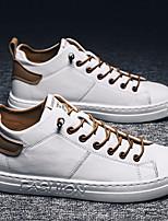 abordables -Homme Chaussures de confort Polyuréthane Automne hiver Basket Bloc de Couleur Noir / Chameau / Gris