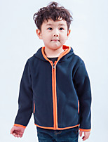 cheap -Boys' Hiking Fleece Jacket Winter Outdoor Warm Comfortable Winter Fleece Jacket Camping / Hiking / Caving Traveling Winter Sports Forest Green / Orange / Green / Blue