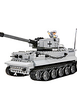 cheap -Building Blocks 350 pcs Military compatible Legoing Simulation Tank All Toy Gift / Kid's