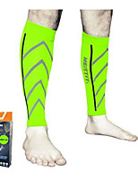 cheap -Leg Sleeves Calf Support Calf Compression Sleeves Sporty for Running Marathon Elastic Breathable Sweat-wicking Men's Women's Polyester / Polyamide Spandex Fabric 1 Piece Sports Black White Red