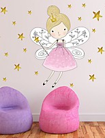 cheap -Princess / Holiday Wall Stickers Plane Wall Stickers / Holiday Wall Stickers Decorative Wall Stickers, PVC Home Decoration Wall Decal Wall / Window Decoration 1pc