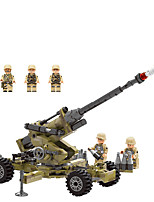 cheap -Building Blocks 286 pcs Military compatible Legoing Simulation Military Vehicle All Toy Gift / Kid's