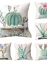 cheap -6 pcs Throw Pillow Simple Classic 45*45 cm  Car Waist Pillow Sofa cushion cover flannelette printing creative Home Office cushion