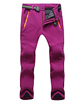 cheap -Women's Hiking Pants Winter Outdoor Waterproof Windproof Breathable Warm Pants / Trousers Camping / Hiking / Caving Traveling Winter Sports Black Purple Fuchsia S M L XL XXL Regular Fit
