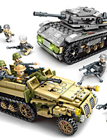 cheap -Building Blocks 1061 pcs Military compatible Legoing Simulation Tank All Toy Gift / Kid's