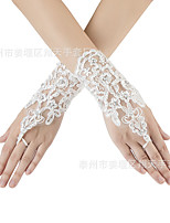 cheap -Gloves Fingerless Satin For Bride Cosplay Halloween Carnival Women's Costume Jewelry Fashion Jewelry