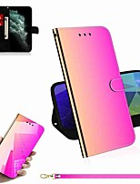 cheap -Case For Apple iPhone 11 / iPhone 11 Pro / iPhone 11 Pro Max Wallet / Card Holder / with Stand Full Body Cases Solid Colored PU Leather / TPU for iPhone X / XS / XR / Xs Max / 8 Plus / 7 Plus / 6 Plus