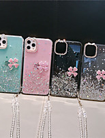 cheap -Case For Apple iPhone 11 / iPhone 11 Pro / iPhone 11 Pro Max Flowing Liquid Back Cover Glitter Shine TPU