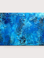 cheap -Oil Painting Hand Painted - Abstract Pop Art Modern Stretched Canvas