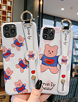 cheap -Case For Apple iPhone 11 / iPhone 11 Pro / iPhone 11 Pro Max Shockproof / IMD / Pattern Back Cover Animal / Cartoon PC