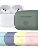 cheap -Case For AirPods Pro Dustproof Cover Heart Headphone Case Soft