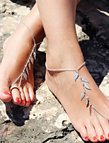 cheap -Ankle Bracelet Masquerade Bohemian Alloy For Indian Girl Cosplay Halloween Carnival Women's Costume Jewelry Fashion Jewelry