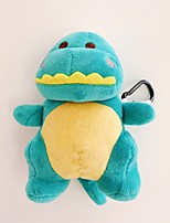 cheap -Creative Fall Winter Cute Cartoon Doll Dinosaur Anti-Fall AirPods Case with Safety Buckle for Apple Airpods 2&1 Charging
