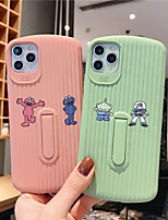 cheap -Soft Silica Gel Case for iPhone X Fashion Fun Cool Cover Skin Teens Boys Girls Cases for iPhone 6 / iPhone 7/ iPhone 11 pro / Shockproof / Dustproof with Stand
