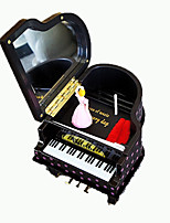 abordables -Boîte à musique Vacances Rétro Créatif Adorable Le gel de silice 1 pcs Enfant Adulte Tous Jouet Cadeau