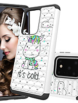 cheap -Painted pattern PC  TPU phone case for Samsung S20Plus S20Ultra S20 / 10/9/8 Plus S10Lite (e) Samsung Note10 Plus / Pro multiple pattern selection