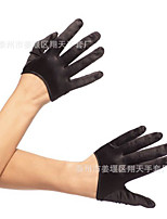 cheap -Gloves 1950s Fingertips Satin For Audrey Hepburn Cosplay Halloween Carnival Women's Costume Jewelry Fashion Jewelry