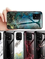 cheap -Case For Samsung Galaxy S9 / S9 Plus / S8 Plus Shockproof / Dustproof / Ultra-thin Back Cover Marble Tempered Glass