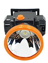 abordables -Lampes Frontales 500 lm LED LED 1 Émetteurs avec Chargeur Portable Camping / Randonnée / Spéléologie Usage quotidien Cyclisme Noir