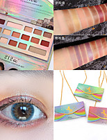 cheap -16 Colors Eyeshadow Matte Eye EyeShadow Cream Kits Easy to Carry Easy to Use lasting Shimmer glitter gloss Long Lasting water-resistant Daily Makeup Party Makeup Fairy Makeup Cosmetic Gift