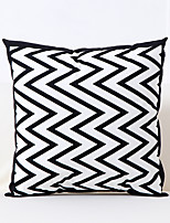 cheap -1 pcs Polyester Pillow Cover Geometric Lines Fresh Pattern Throw Pillows SOFA Cushion European Modern Creative Car Office Pillow Cover