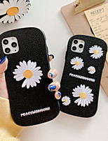 cheap -Case For Apple iPhone 11 / iPhone 11 Pro / iPhone 11 Pro Max Shockproof / Ultra-thin / Pattern Back Cover Solid Colored / Flower PC