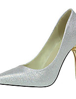cheap -Women's Wedding Shoes Stiletto Heel Pointed Toe Synthetics Sweet / British Fall / Spring & Summer Black / Wine / Gold / Party & Evening