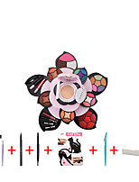 cheap -8 Colors Dry / Matte / Shimmer Whitening / Moisture / Girlfriend Gift Cosmetic / Foundation / Powder # Glamorous & Dramatic / Sweet Multilayer / Double Open Lid / Multi Function Others Makeup Cosmetic