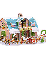 cheap -3D Puzzle Cartoon Simulation Pure Paper 38 pcs Kid's All Toy Gift