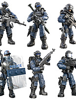 cheap -Building Blocks 0-38 pcs Warrior Military compatible Legoing Simulation All Toy Gift / Kid's