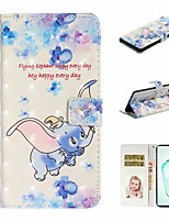 cheap -Case For Samsung Galaxy A6 (2018)/A7(2018) / A8 2018 Wallet / Card Holder / with Stand Full Body Cases Animal PU Leather For Galaxy A10S/A20S/A30S/A50S/Note 10 Plus/J6 Plus/J4 Plus/Note 10