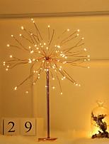cheap -Dandelion Design Decoration Light USB Powered Creative Tree Sputnik Design Bedside Night Light Creative Staycation 1pc