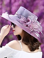 cheap -Queen Elizabeth The Marvelous Mrs. Maisel Retro Vintage Kentucky Derby Hat Fascinator Hat Women's Organza Costume Hat Purple / Burgundy / Blue Vintage Cosplay Party Party Evening