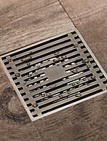 cheap -Bathroom Floor Drain 10x10cm Brass Antique Brass / Black / Rose Gold / Gold