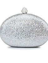 cheap -Women's / Girls' Flower / Embossed Synthetic / Alloy Evening Bag Geometric Pattern Gold / Silver