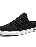 cheap -Men's Comfort Shoes Mesh Fall & Winter Sneakers Black / White / Beige