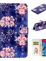 cheap -Case For Samsung Galaxy A10/A30/A50 Wallet / Card Holder / with Stand Full Body Cases Flower PU Leather For Galaxy M10/A20/A40/A70/A80/A90/A20E